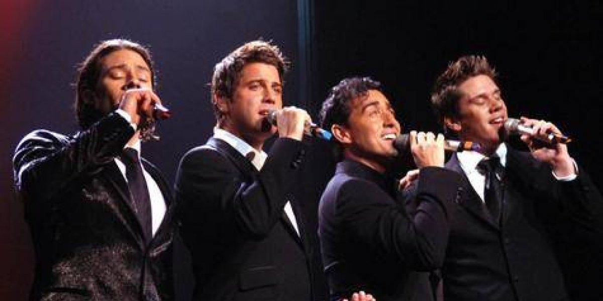 Il Divo y Alexandre Pires cantan este fin de semana en RD