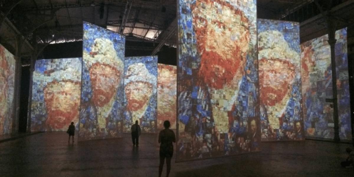 Exposição imersiva sobre Van Gogh vai até 15 de setembro
