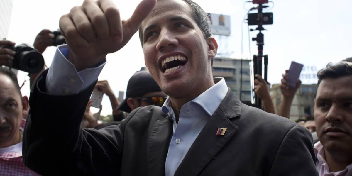 Juan Guaidó parte a frontera con Colombia para recibir ayuda humanitaria