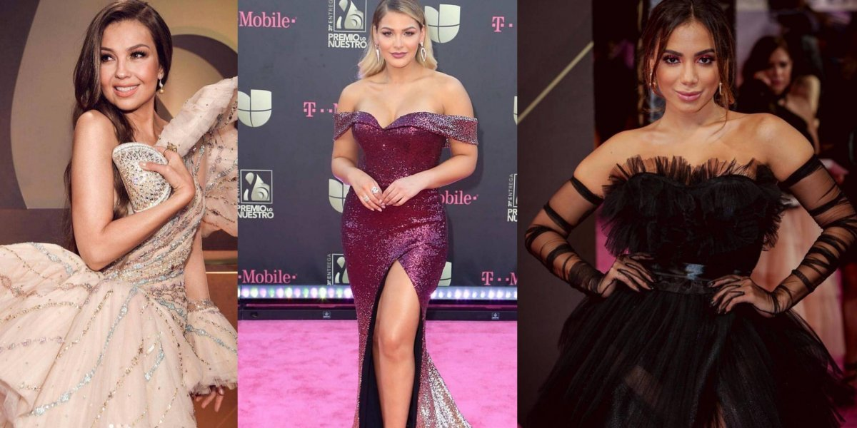 FOTOS. Las mejor vestidas en Premio Lo Nuestro 2019
