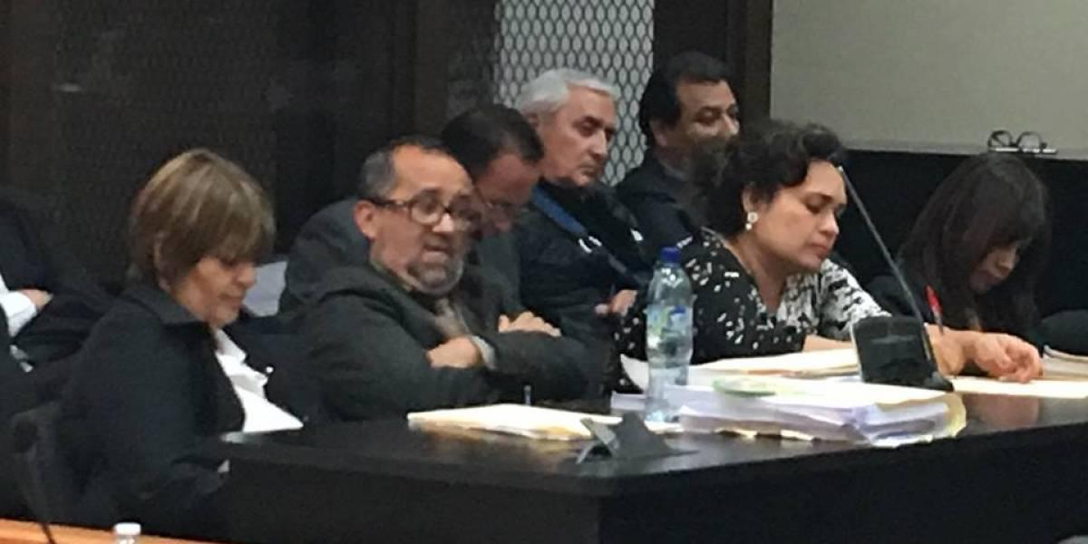 """Otto Pérez Molina reaparece en el caso """"La Línea"""", estuvo 198 días hospitalizado"""