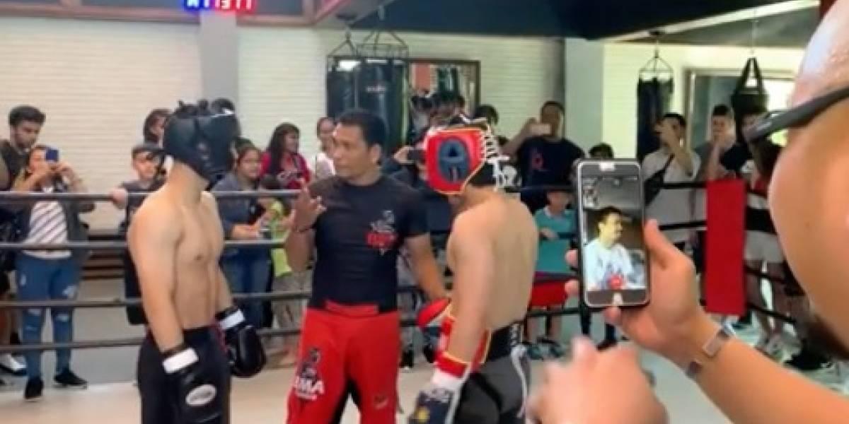 Pacquiao no quiere que su hijo sea boxeador