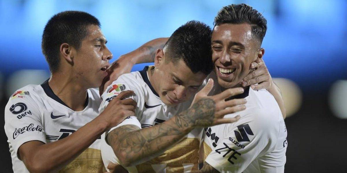 Pumas se impone a U de G y quedan definidos octavos de final de la Copa MX