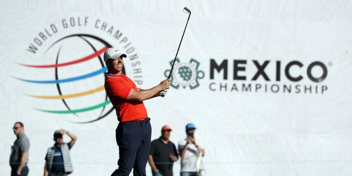 McIlroy lidera primera ronda del WGC México Championship, Woods termina en el 25