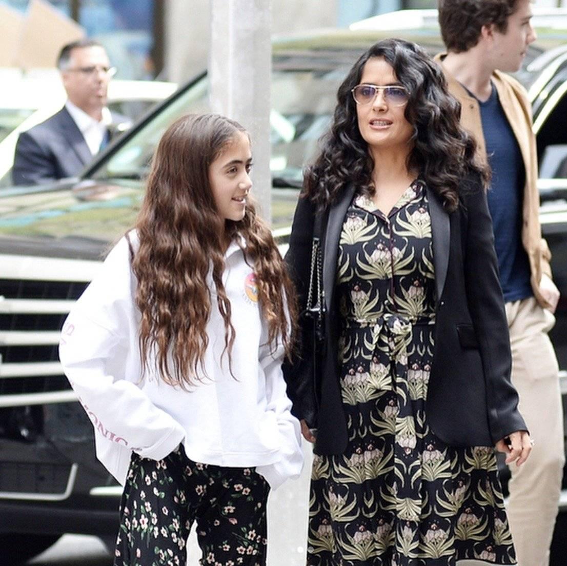 hija de Salma Hayek 2019