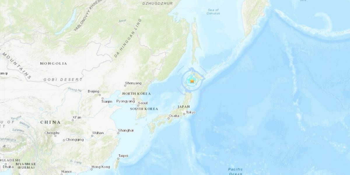 Sismo magnitud 5.7 sacude el norte de Japón