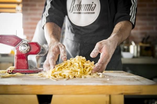 cocina en movimiento