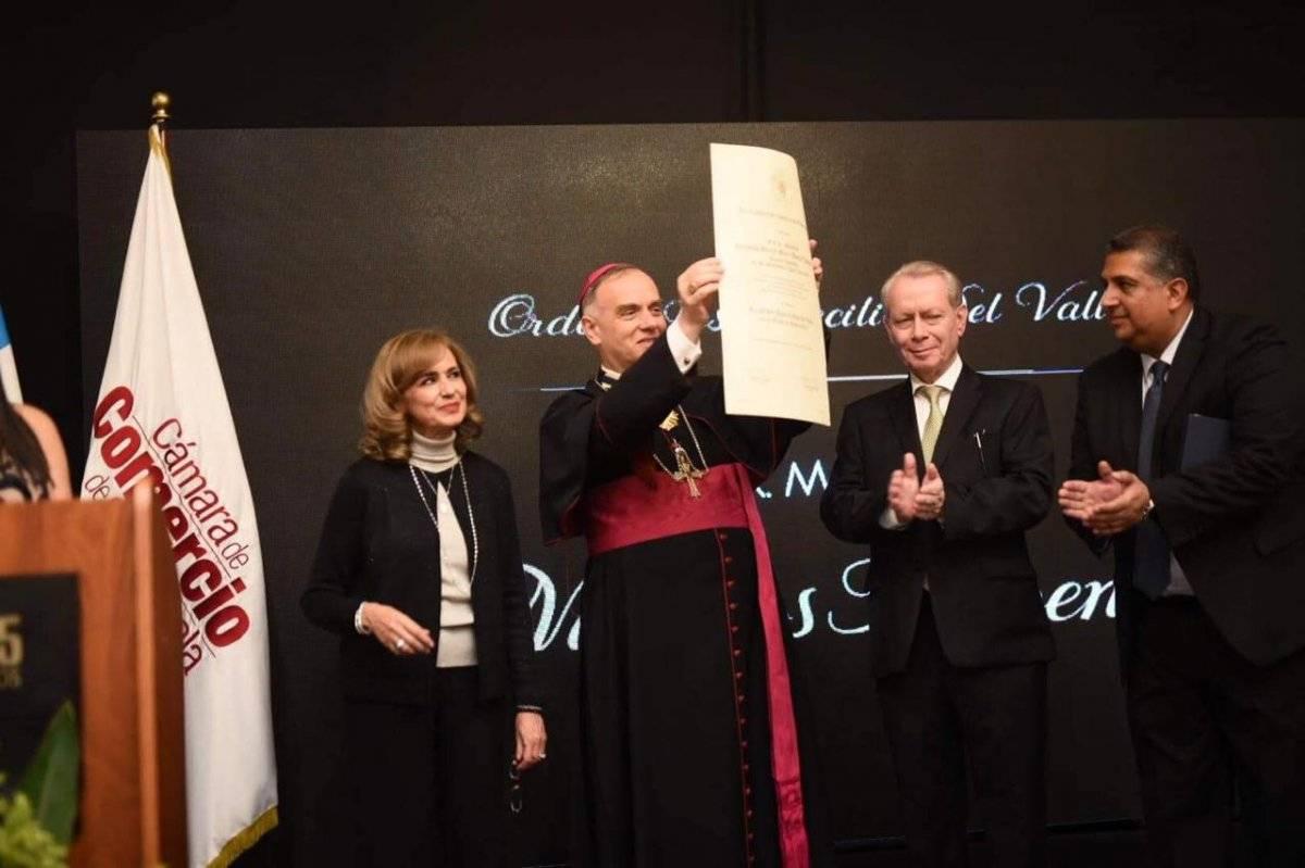 Nuncio Apostólico Nicolás Thevenin