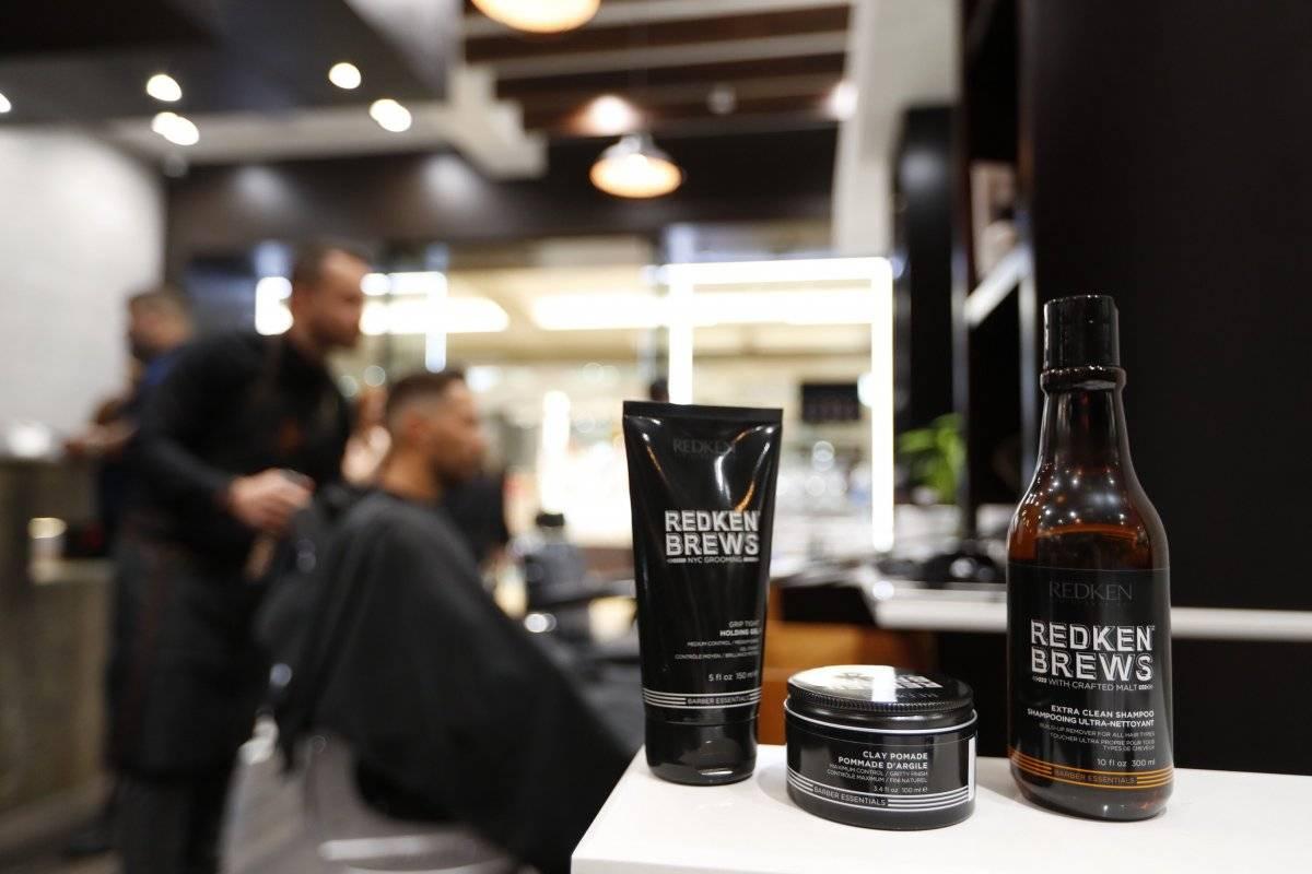 Algunos de los productos de la marca Redken Brews. / Suministrada