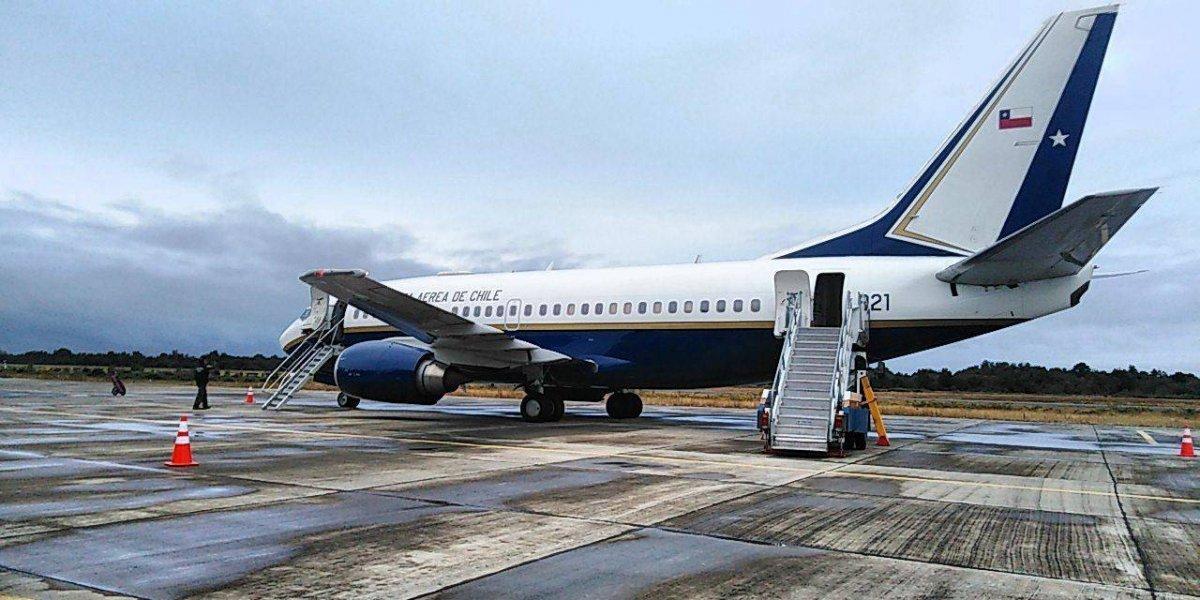 Piñera en Cúcuta: las fallas que acumula el avión presidencial de 48 millones de dólares