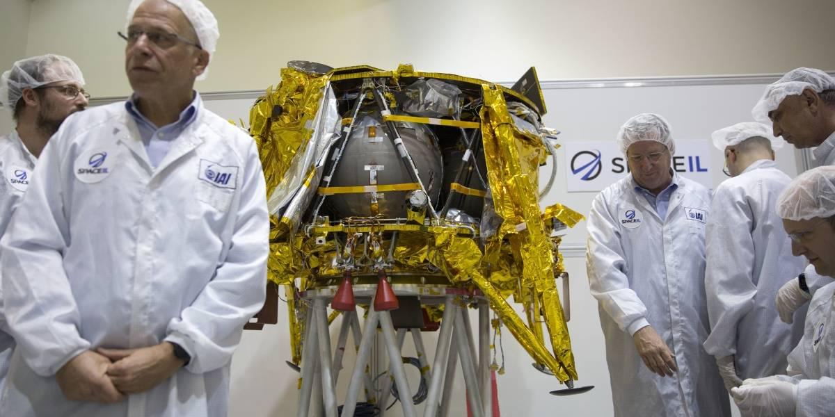 Nave espacial israelí viaja a la Luna en misión privada