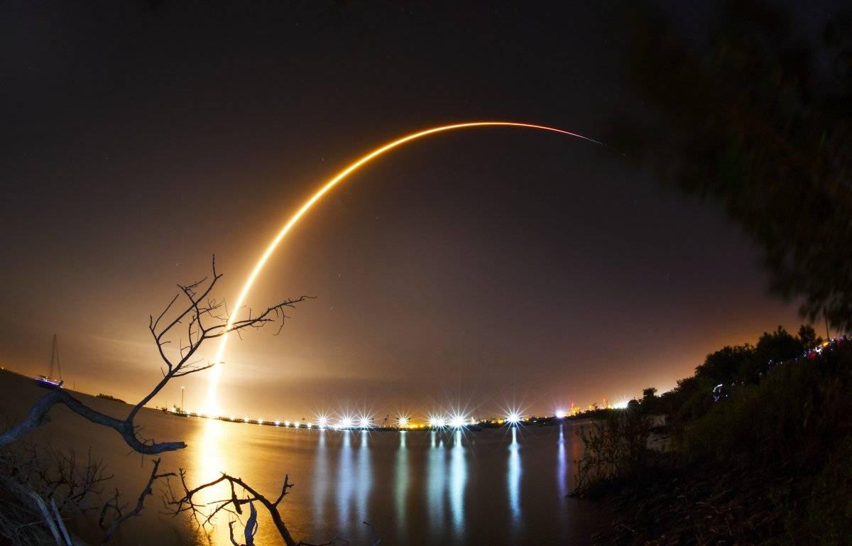 Lanzamiento de la primera nave espacial de Israel que llegará a la Luna Foto: AP