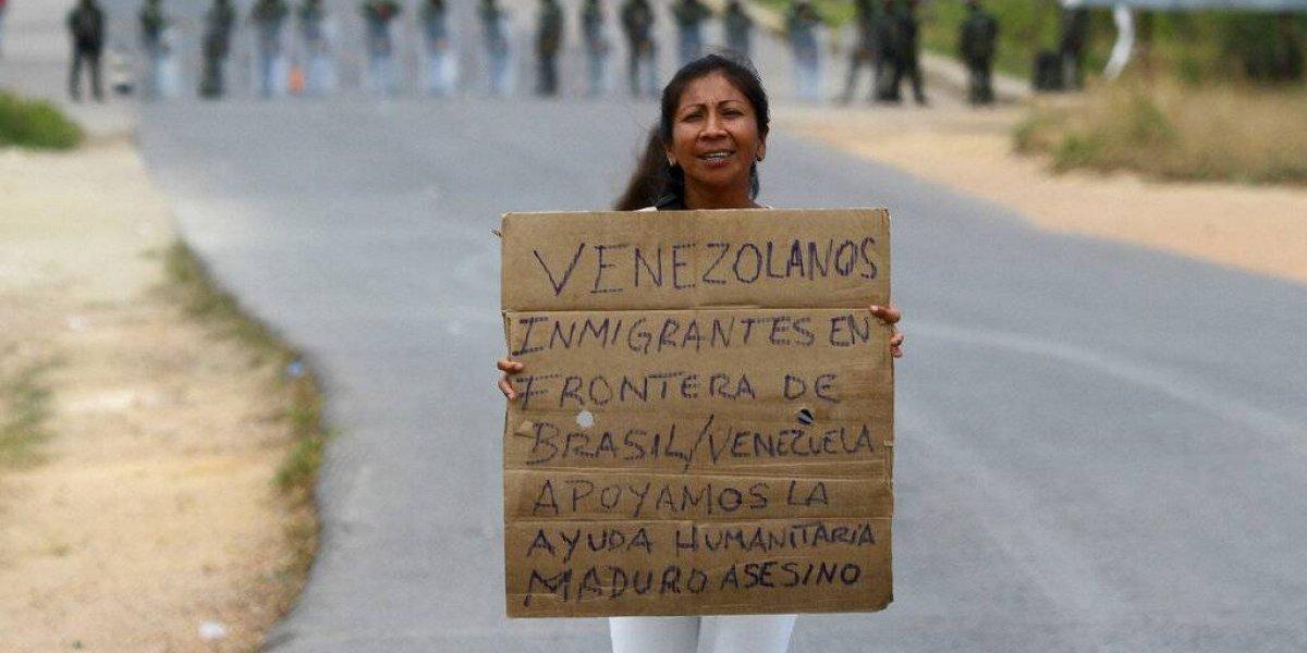 Cinco heridos tras enfrentamiento en frontera entre Venezuela y Brasil