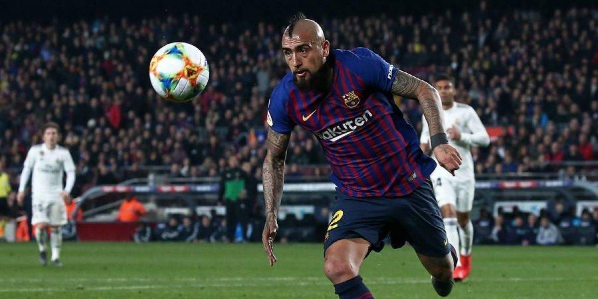 Así vivimos el triunfo del Barcelona con triplete de Messi y un bajísimo Arturo Vidal