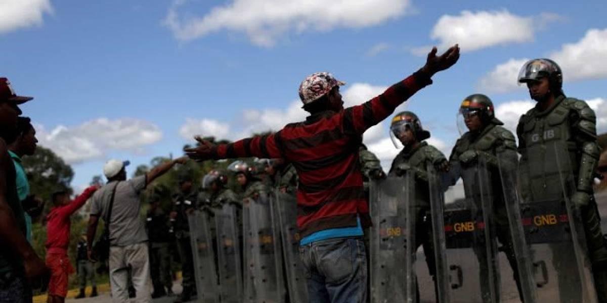 Dos personas fallecieron en enfrentamientos en la frontera de Venezuela con Brasil