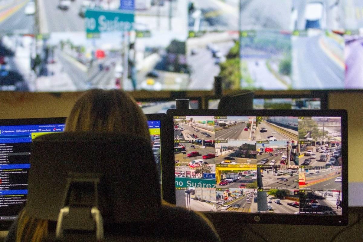 Hay más de 15 mil cámaras por toda la ciudad. Foto: Cuartoscuro