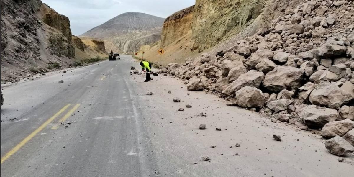 Se registran cinco heridos por sismos que sacudieron a Ecuador