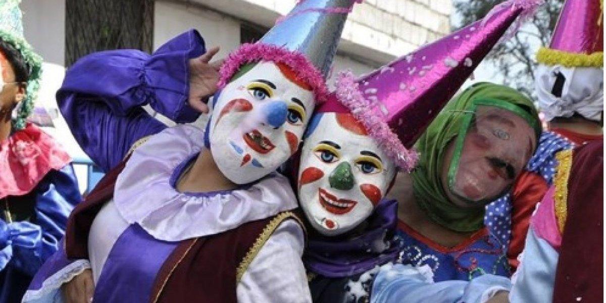 """Carnaval de Amaguaña, una fiesta de los tradicionales """"Corsos y serpentinas"""""""