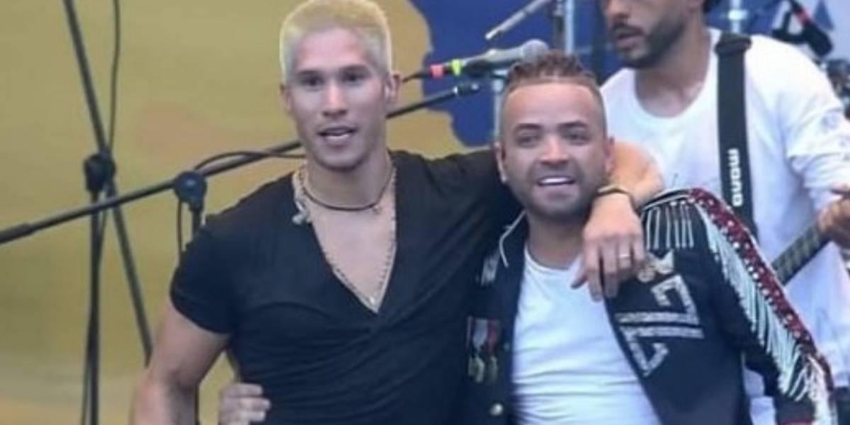 Las redes estallan con el abrazo de Chino y Nacho en el Venezuela Aid Live en Cúcuta
