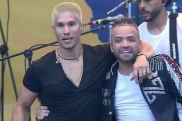Chino y Nacho en el Venezuela Aid Live en Cúcuta