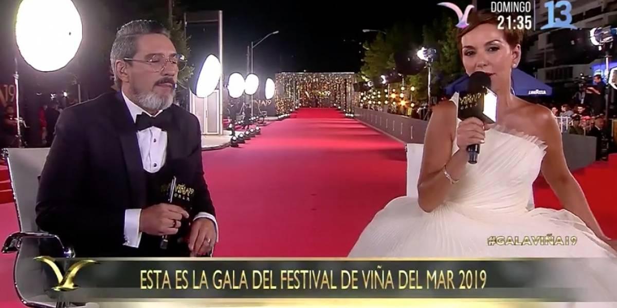 Gala Viña 2019: Con problemas de audio se dio inicio a la alfombra roja
