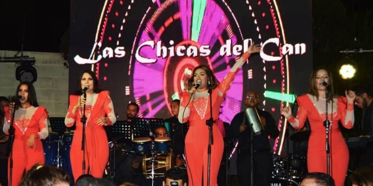 Las chicas del can niegan presentación en concierto de Nicolás Maduro