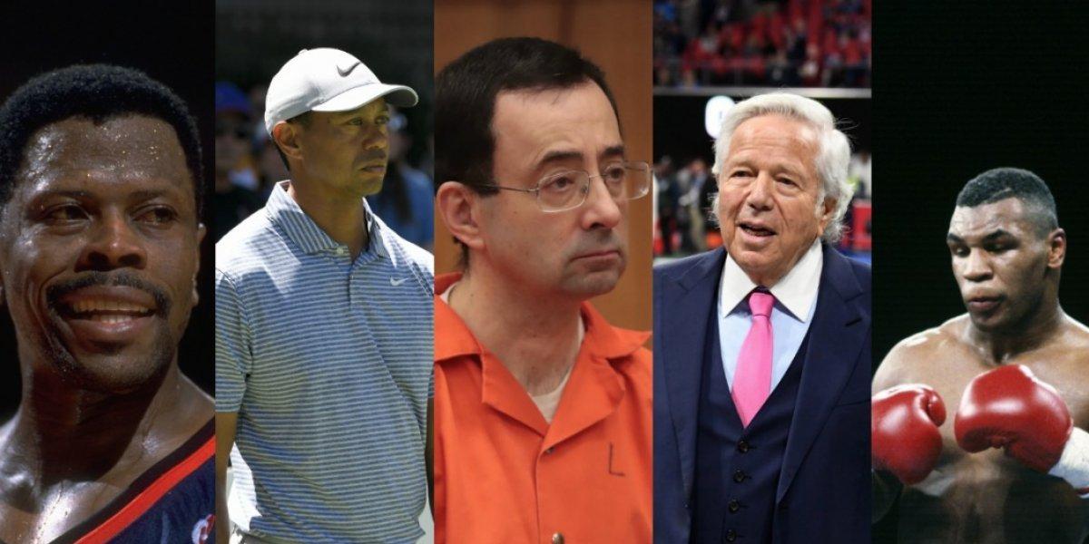 Los escándalos sexuales más recordados en el mundo del deporte en Estados Unidos