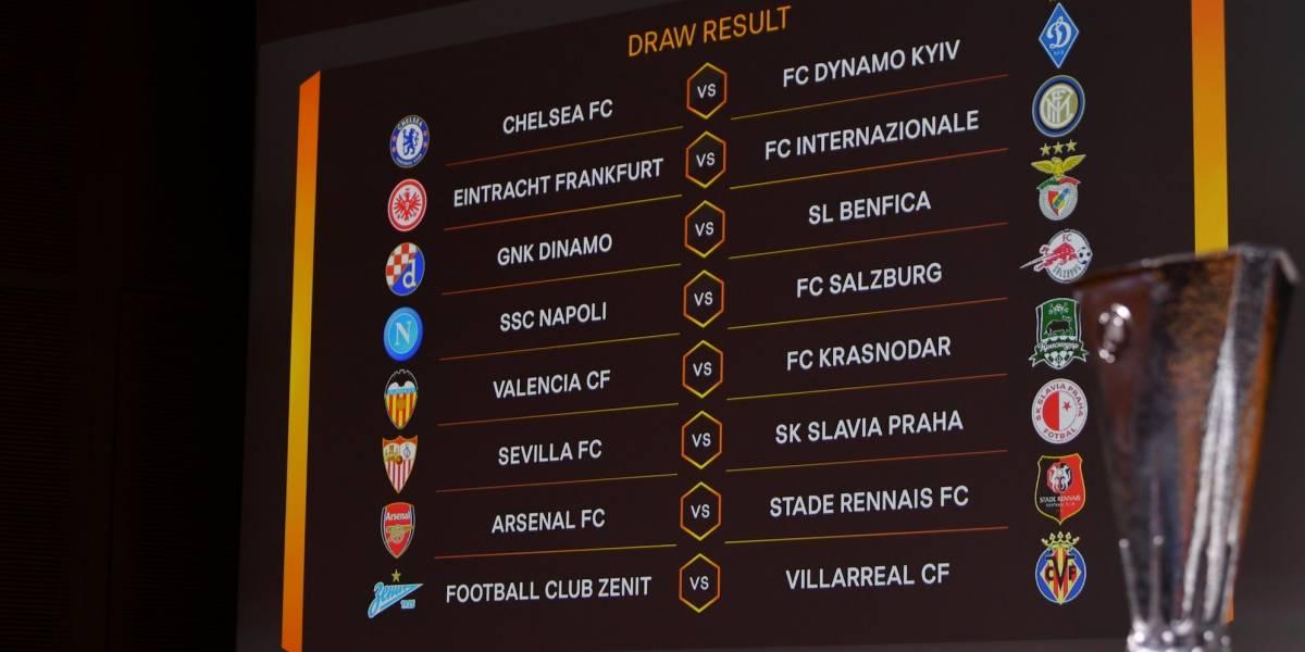 Listos los octavos de final de la Europa League