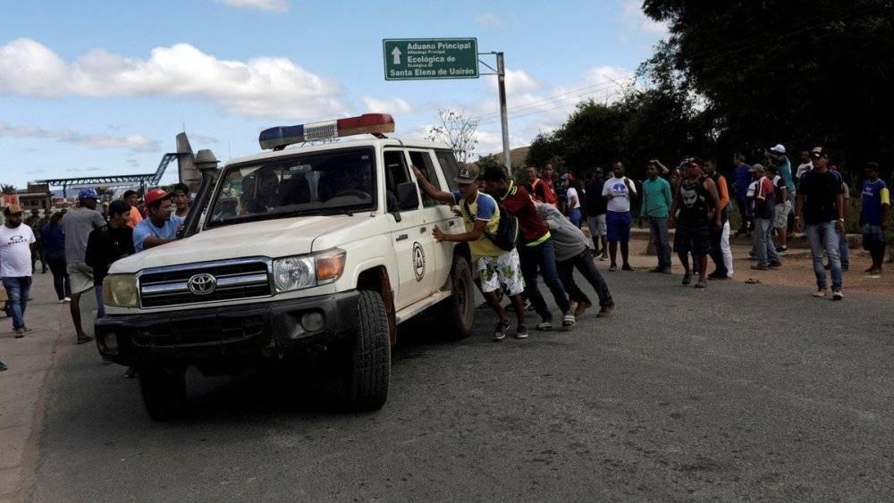 Frontera Venezuela - Brasil
