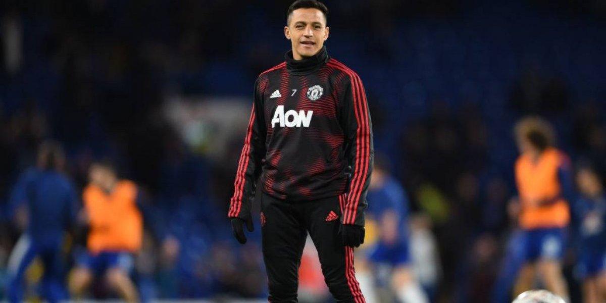 Alexis Sánchez participó en decepcionante empate entre Manchester United y Liverpool