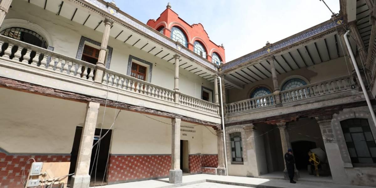 Convertirán La Perulera en centro de promoción cultural