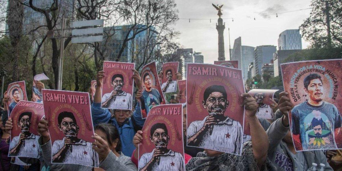 Con marchas en Morelos y la CDMX exigen justicia para Samir Flores