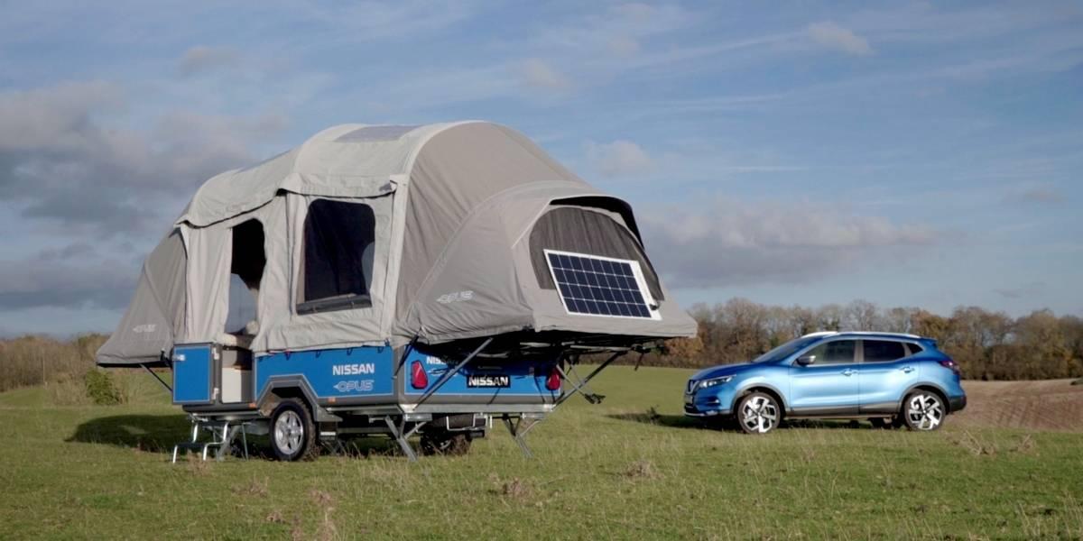 Casas rodantes, uno de los destinos de las baterías de los autos eléctricos Nissan