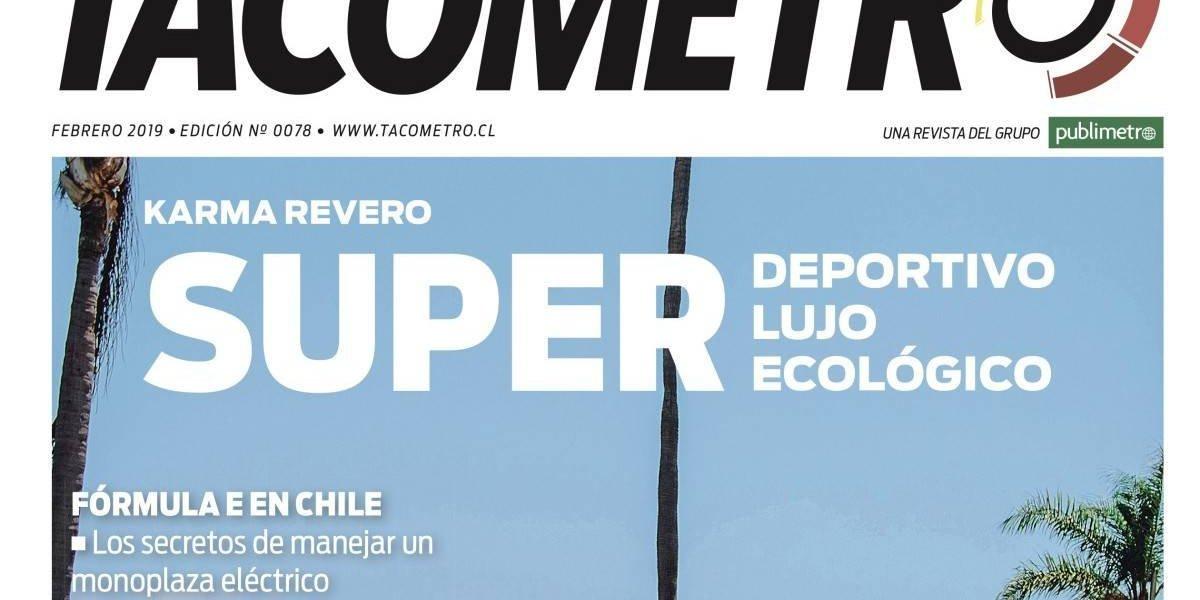 Puro lujo: así viene la revista Tacómetro en febrero