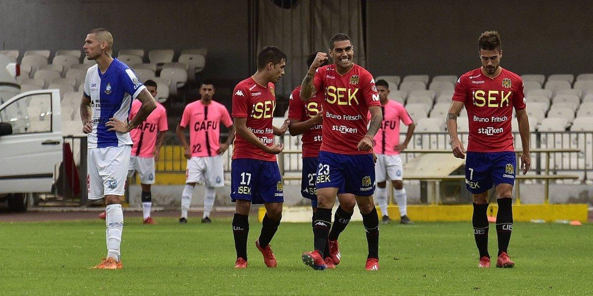 Unión Española sorprendió de visita a Antofagasta en el inicio de la segunda fecha del Campeonato Nacional