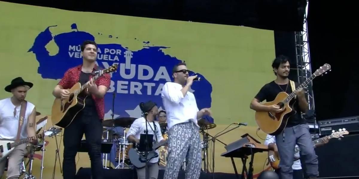 Así se vive el Venezuela Aid Live