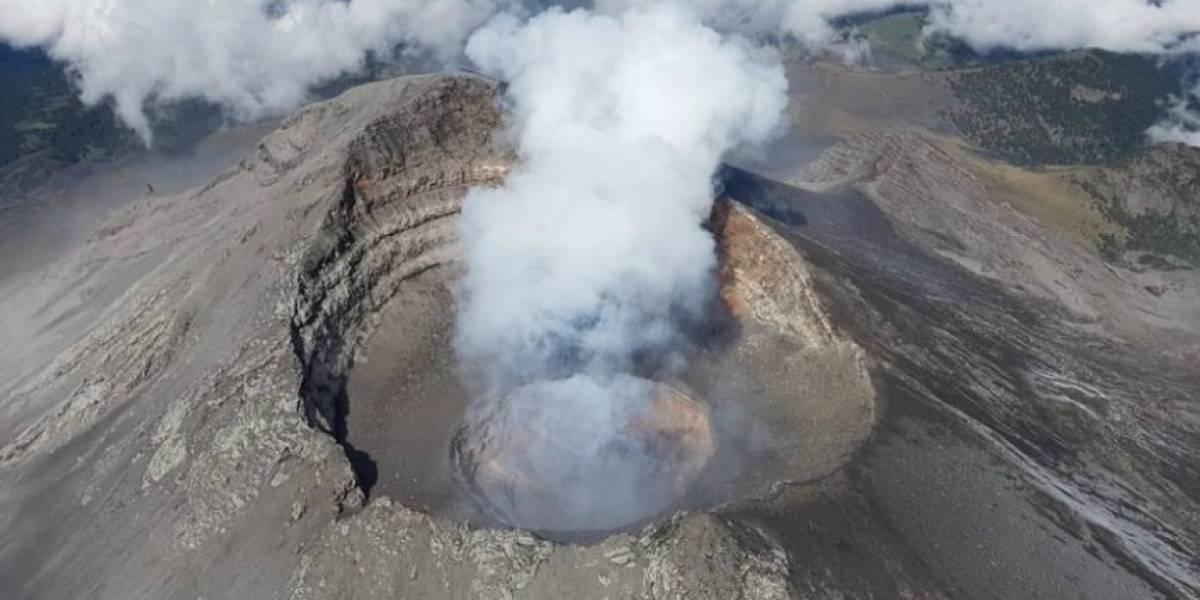 Se prevé actividad del Volcán Popocatépetl gracias a la formación de un domo