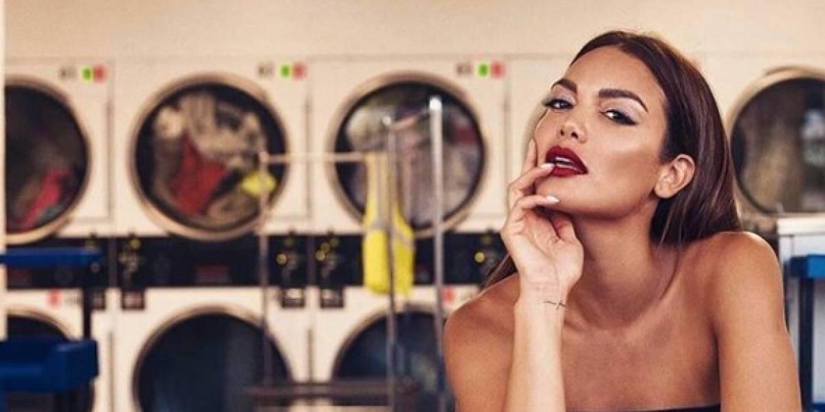 Zuleyka Rivera sorprende con sensual pose en Francia