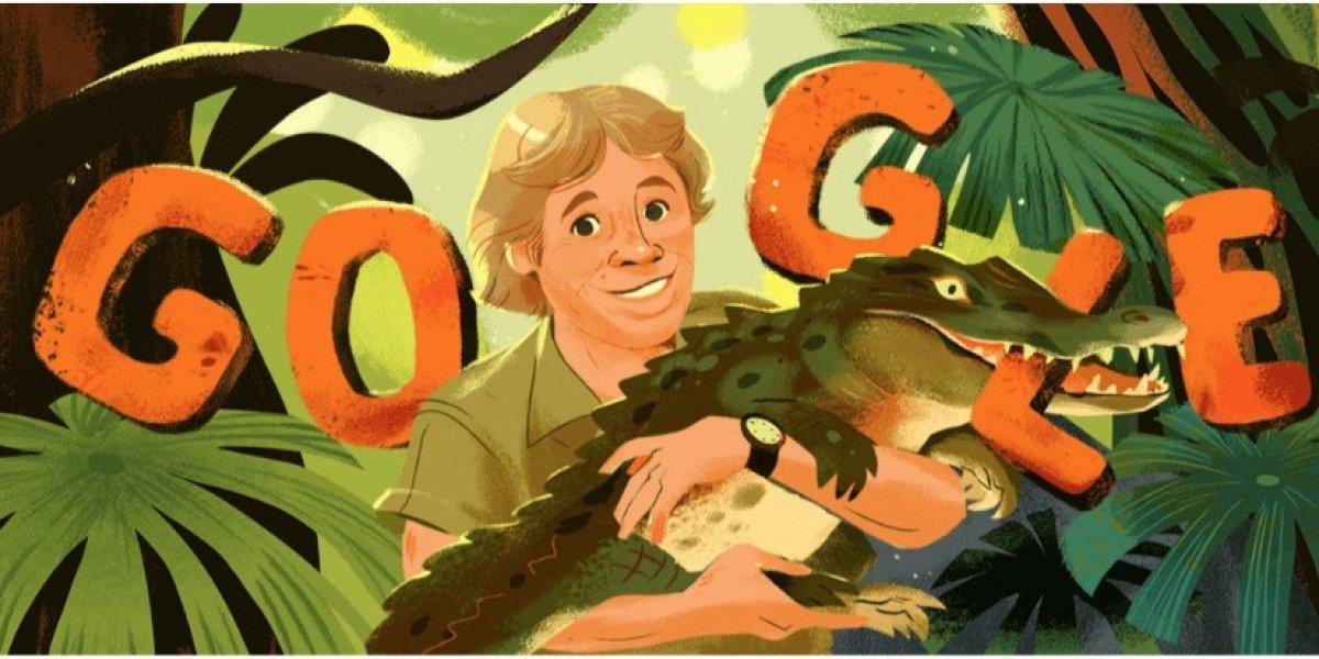 ¿Por qué Steve Irwin aparece en el Doodle de Google?