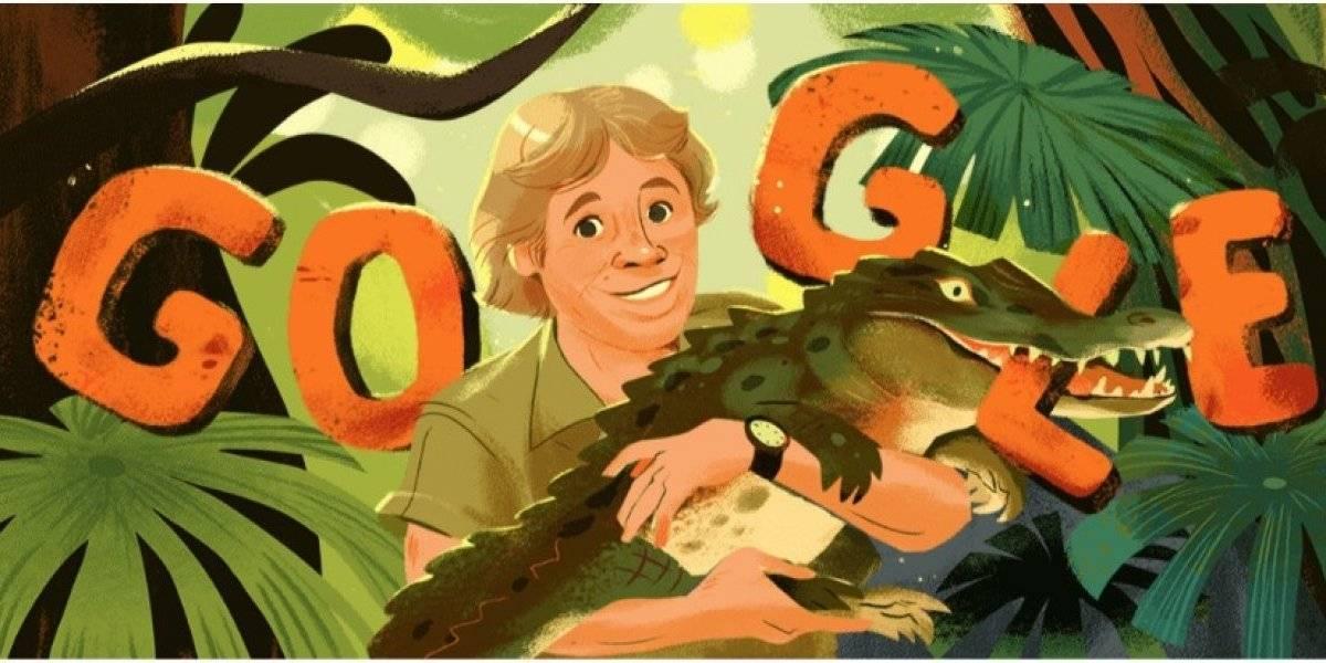 ¿Por qué aparece Steve Irwin en el Doodle de Google?