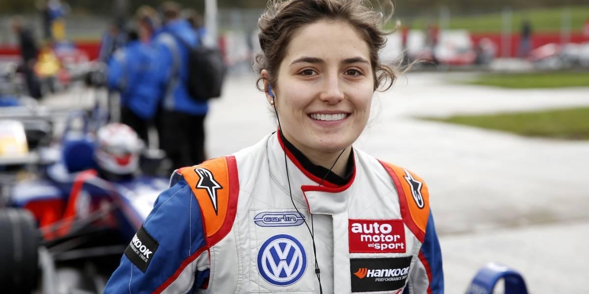 Tatiana Calderón será piloto del equipo BWT Arden en Fórmula 2