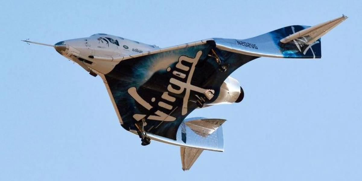 Virgin Galactic dá mais um passo em direção ao turismo espacial