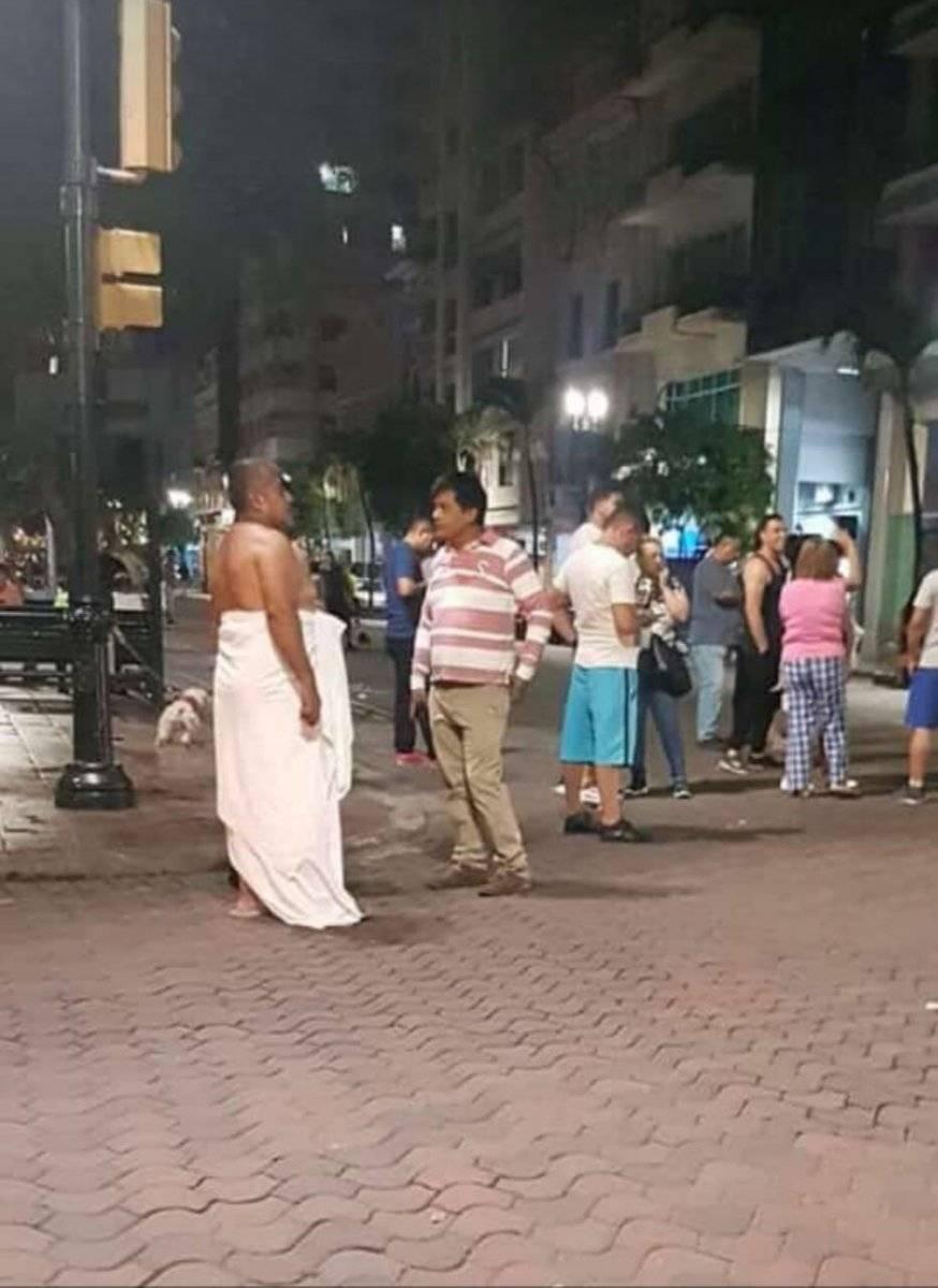 Sismo Guayas en la 9 de octubre