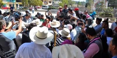 Manifestaciones contra la termoeléctrica en Yecapixtla, Morelos