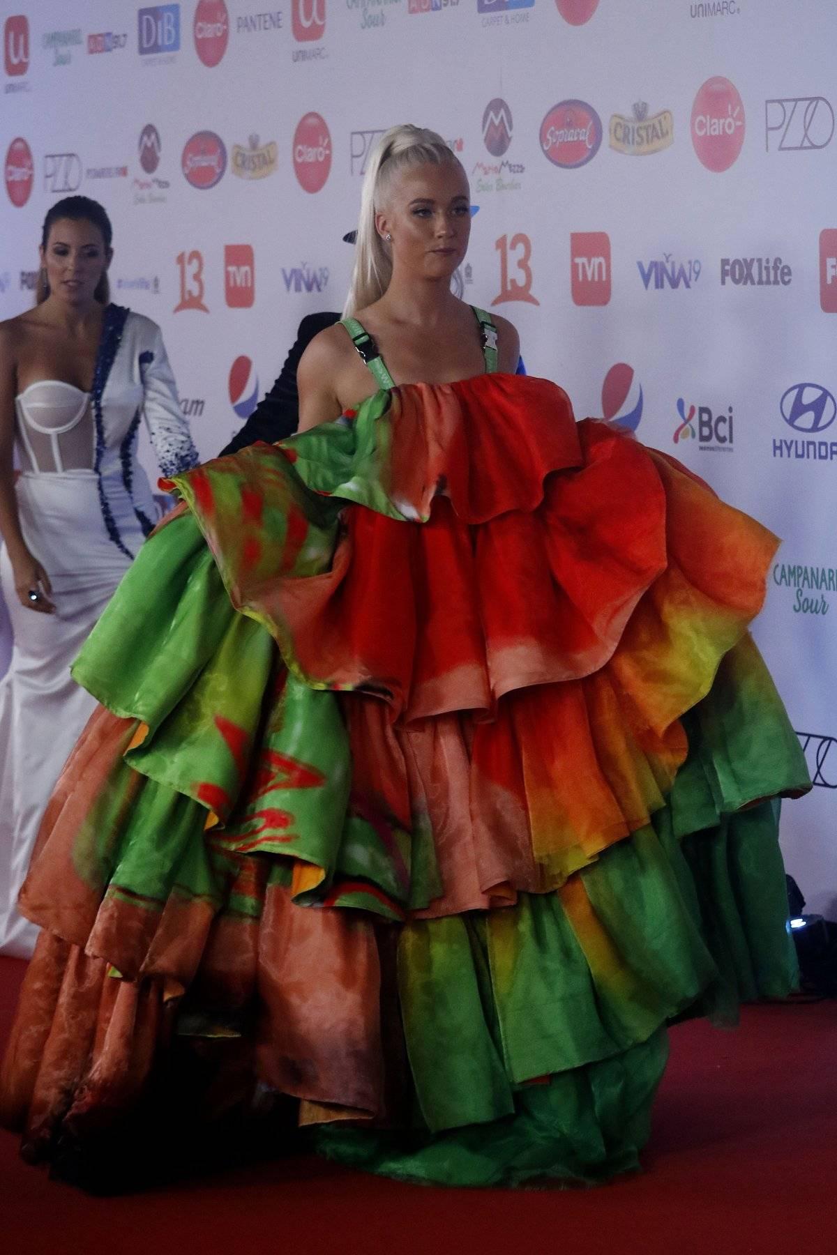 Del Lugg Llamativo De Los La En Vestido Detalles Gala Vesta ikPZTOXu