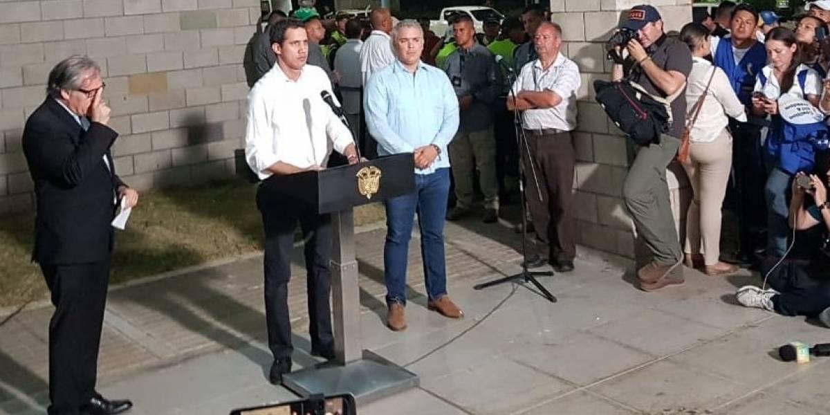 """""""Hoy el mundo vio lo que llevamos años viviendo en Venezuela"""": Juan Guaidó"""
