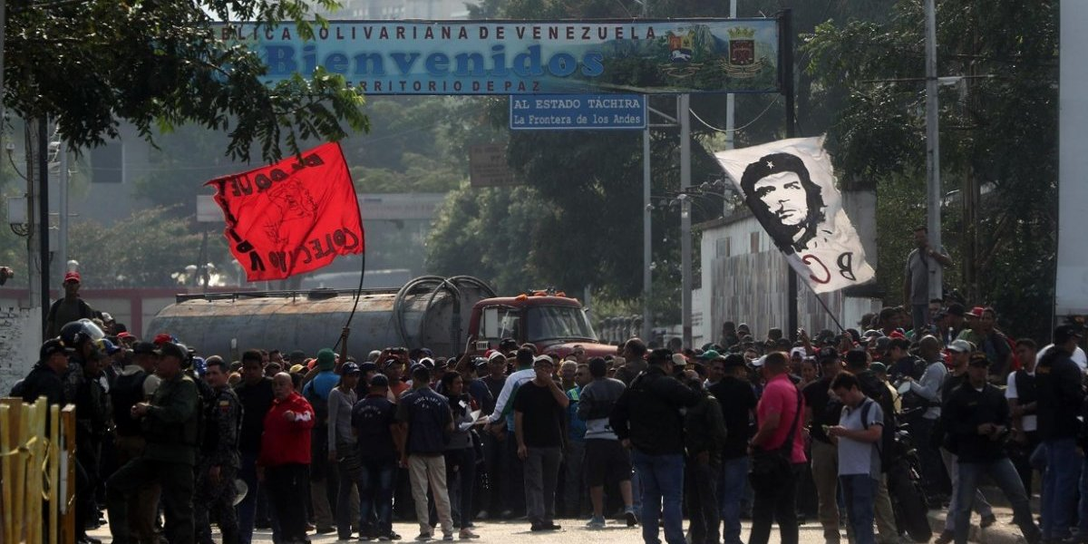 Venezuela cerrará totalmente la frontera con Colombia en Tachira