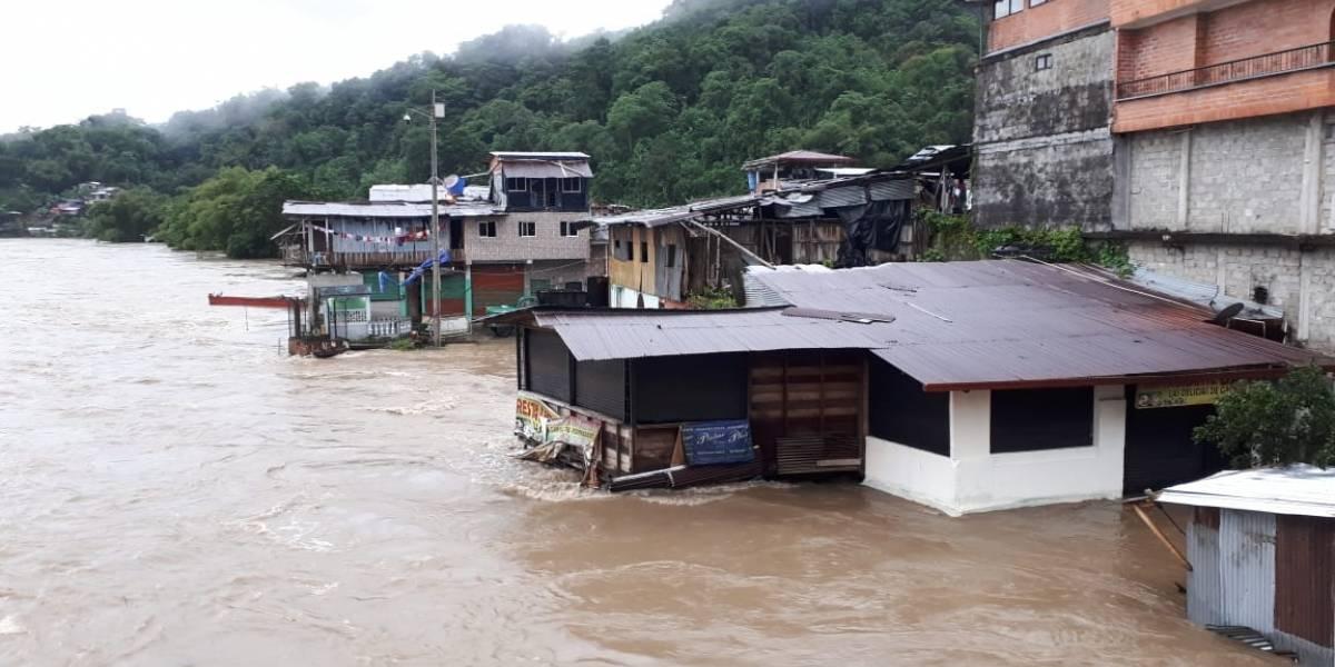 Emergencia en Chocó por inundaciones del río San Juan