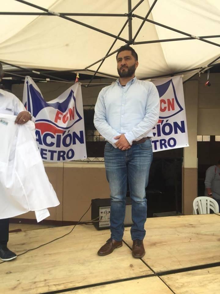 Hugo Alejandro Bollat Herrera, candidato a alcalde capitalino por FCN-Nación. Foto: Omar Solís