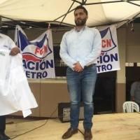 Hugo Alejandro Bollat Herrera, candidato a alcalde capitalino por FCN-Nación.
